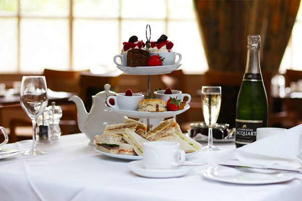 Sparkling Afternoon Tea For Two At Fowey Hall