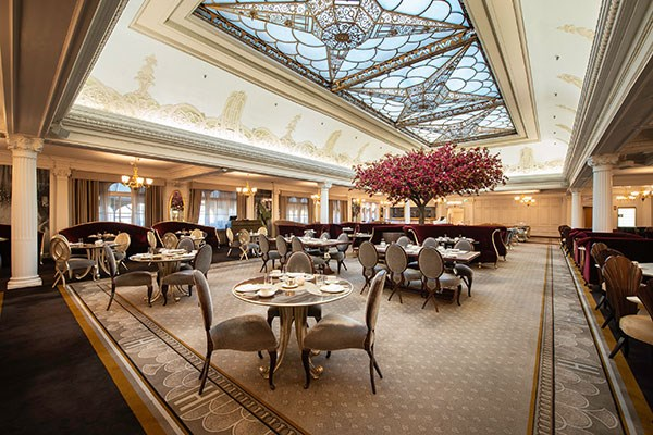 Cream Tea For Two At The Harrods Tea Rooms