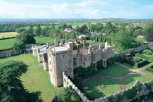 Three Course Sunday Lunch For Two At Thornbury Castle
