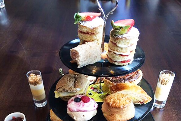 Jailhouse Rock Champagne Afternoon Tea For Two At The Courthouse Hotel Shoreditch