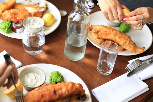 Three Course Meal For Two At Gordon Ramsays The Narrow  London