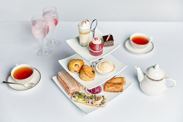 Gin Afternoon Tea For Two At St Pierre Marriott Hotel And Country Club