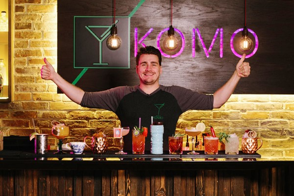 Cocktail Making Class For Two At Komo Bar