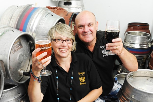 Premium Brewery Tour and Lunch for Two at Kissingate Brewery