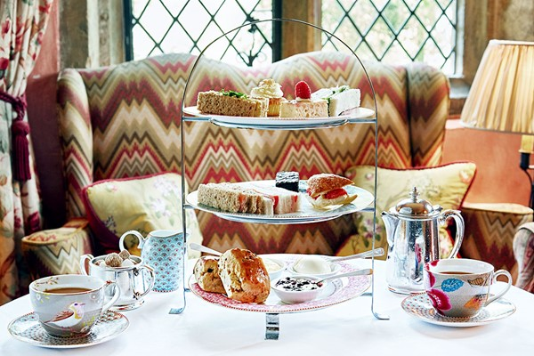 Afternoon Tea With Fiz At Bailiffscourt Hotel And Spa For Two