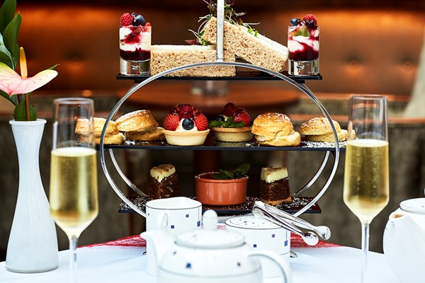 Champagne Afternoon Tea For Two At Hallmark Hotel Chigwell
