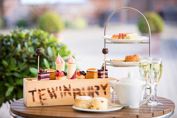 Champagne Afternoon Tea For Two At Saltmarshe Hall