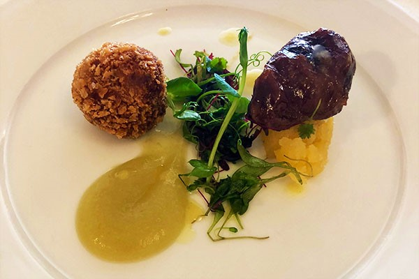 Three Course Michelin Starred Lunch With Cava For Two At Ametsa