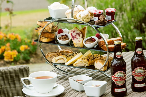 Gentlemans Afternoon Tea For Two At Dalmahoy Hotel And Country Club