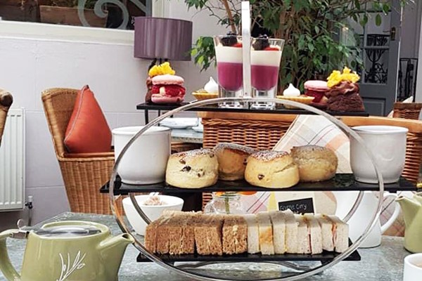 Afternoon Tea At Stanwell House Hotel For Two