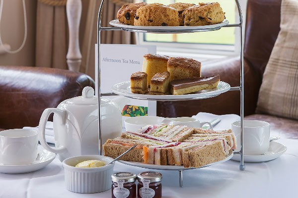 Afternoon Tea For Two At The Slaughters Manor House