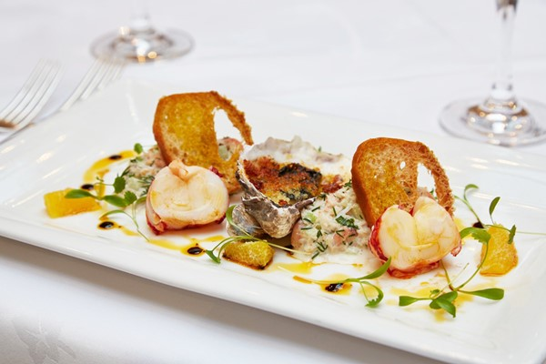 A La Carte Dinner For Two At Bailiffscourt Hotel