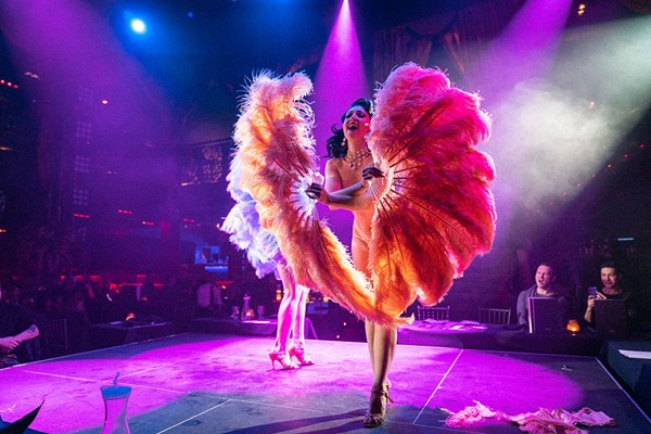 Cabaret All Stars With Denise Van Outen At Proud Embankment For Two