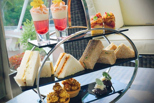 Champagne Afternoon Tea for Two at The Lowry Hotel