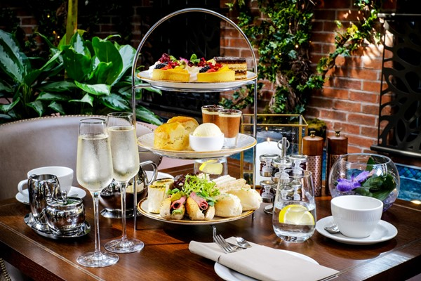 Champagne Afternoon Tea For Two At Hallmark Hotel Bournemouth Carlton