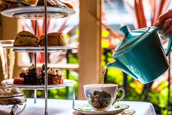 Afternoon Tea For Two At Palm Court Brasserie
