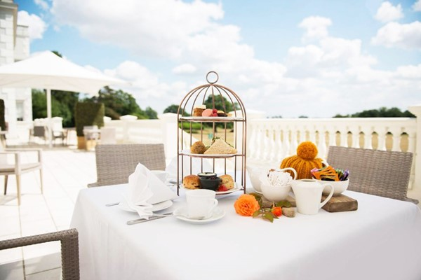 Champagne Afternoon Tea For Two At Hallmark Hotel Cambridge