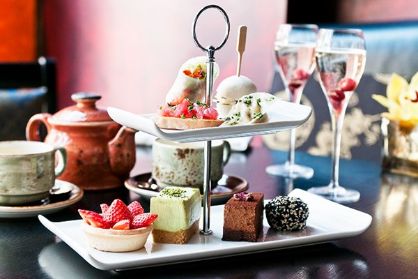 Champagne Afternoon Tea Experience For Two At Buddha-bar