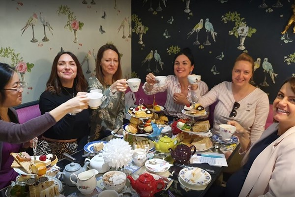 Bottomless Afternoon Tea For Two At Vinteas By Beaumont Patisserie