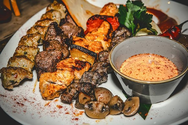 Three Course Meal With Sides And Wine For Two At Mamounia Lounge Knightsbridge