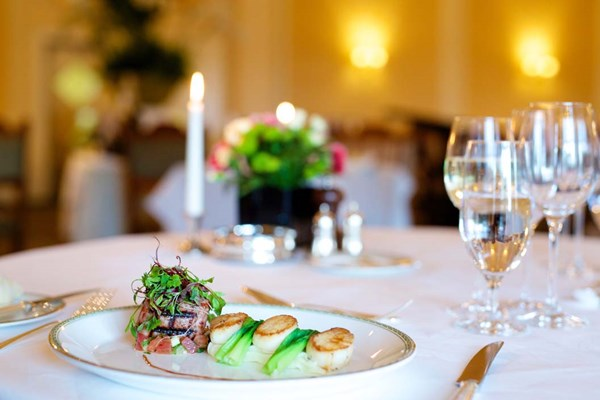 Three Course Lunch For Two At The Mirabelle Restaurant
