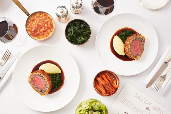 Buy Seven Course Tasting Menu for Two at Gordon Ramsay's Savoy Grill, London