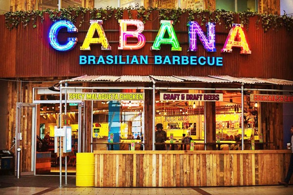 Three Course Meal And A Cocktail For Two At Cabana