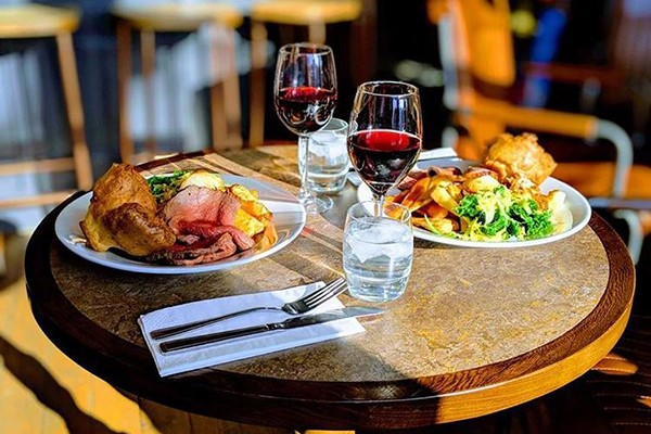Three Course Meal With Wine For Two At Dparys