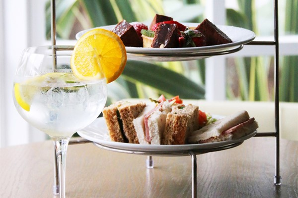 Buy Afternoon Tea with Gin and Tonic for Two at The Wild Pheasant Hotel and Spa