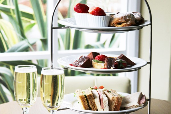 Sparkling Afternoon Tea For Two At Brook Meadow Hotel