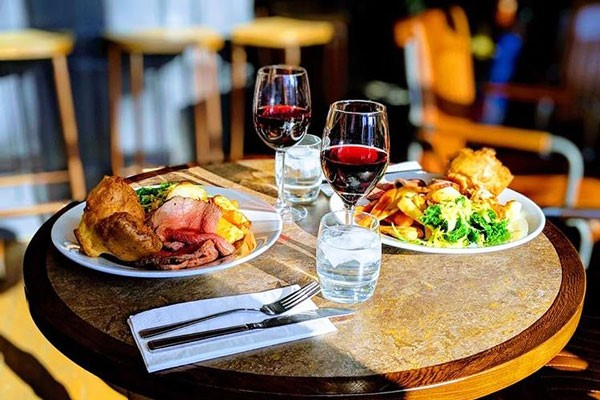 Three Course Meal With Wine For Two At The Old Cock Inn
