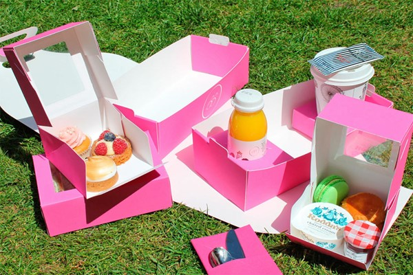 Picnic Box Afternoon Tea For Two With B Bakery  Covent Garden