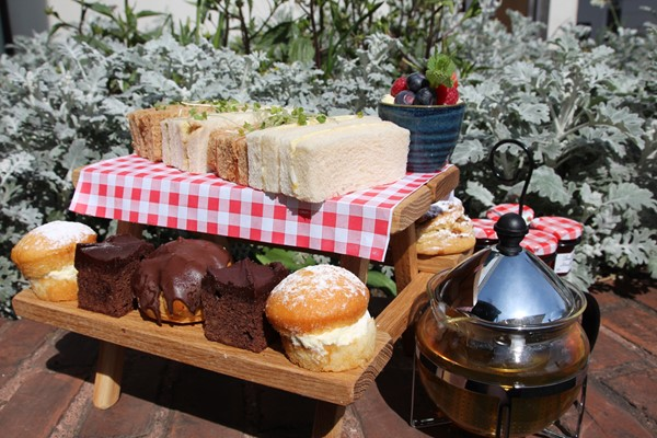 Champagne Afternoon Tea For Two At Brownsover Hall Hotel