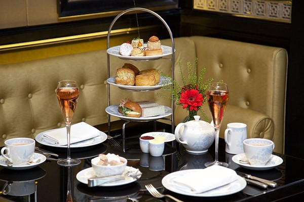 Champagne Afternoon Tea For Two At Hallmark Hotel Bournemouth West Cliff