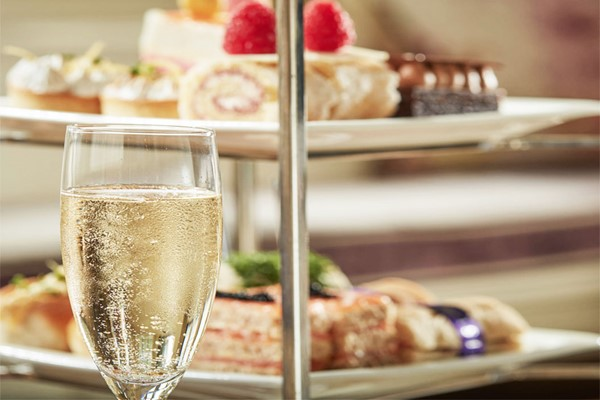 Champagne Afternoon Tea For Two At Bovey Castle Hotel