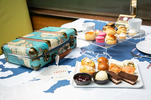 The Art Of Travel Afternoon Tea For Two At Searcys St Pancras