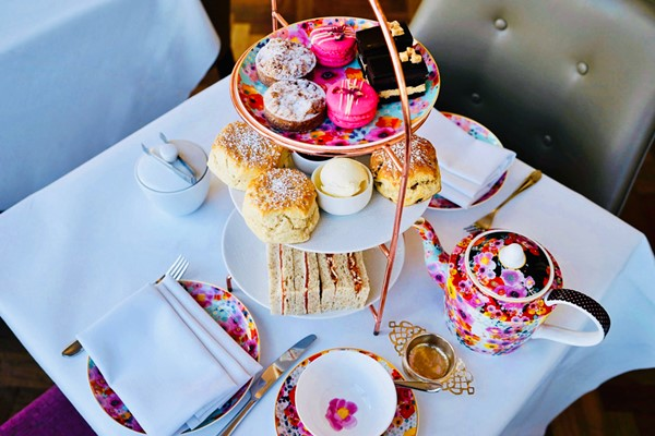 Champagne Afternoon Tea For Two At Amba Hotel Charing Cross
