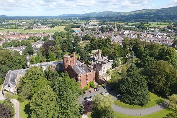 Afternoon Tea For Two At Ruthin Castle Hotel And Spa