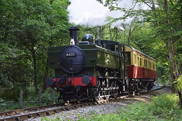 Chigwell Tours Self-guided Vintage Bus And Steam Train Tour For Two