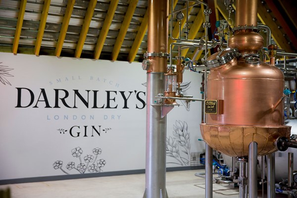 Buy Gin Distillery Tour and Lunch at Darnley's Gin Distillery for Two