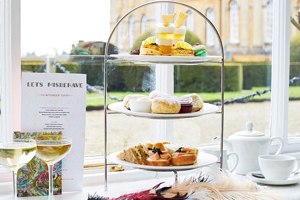 English Sparkling Wine Afternoon Tea In The Orangery Restaurant By Searcys At Blenheim Palace