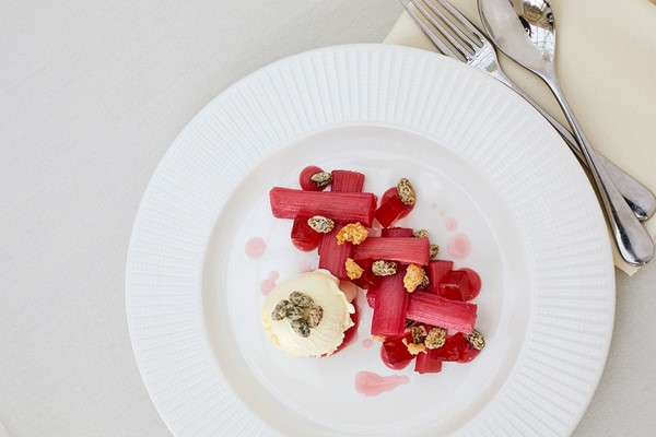 Two Course Lunch With Sparkling Wine At The Orangery Restaurant By Searcys At Blenheim Palace
