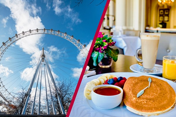 Two Course Bottomless Brunch At Amba Hotel Charing Cross And A Thames Sightseeing Cruise For Two