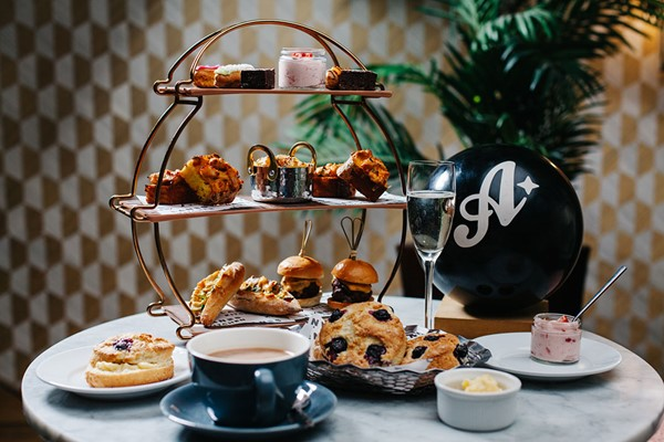 A Game Of Bowling And Afternoon Tea With Cocktails For Two At All Star Lanes