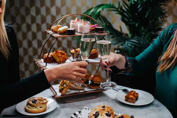 A Game Of Bowling With Bottomless Afternoon Tea For Two At All Star Lanes