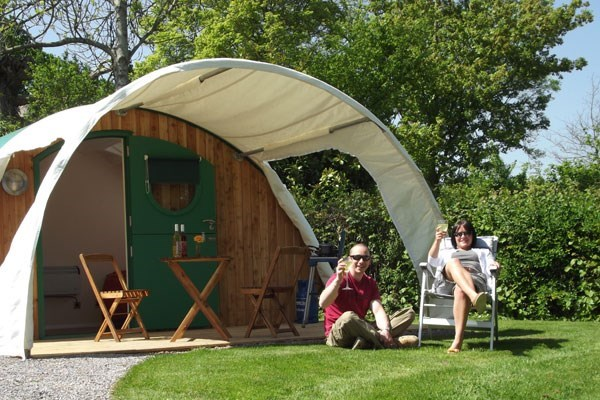 Buy One Night Glamping Break at The Old Oaks Touring Park (Midweek)