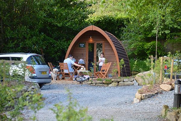 Two Night Camping Break At Langstone Manor