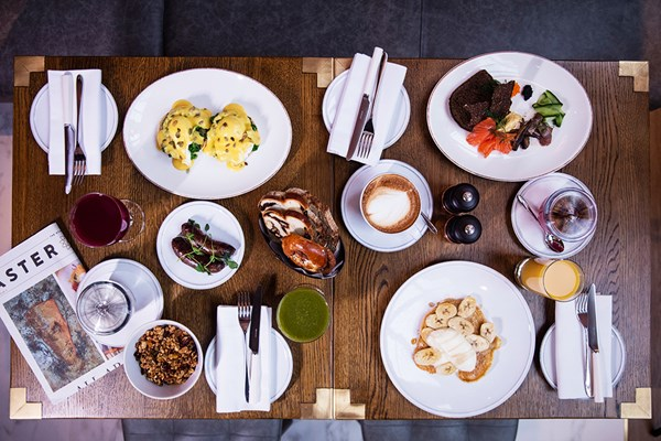 Three Course Brunch With Bottomless Prosecco For Two At Aster Restaurant