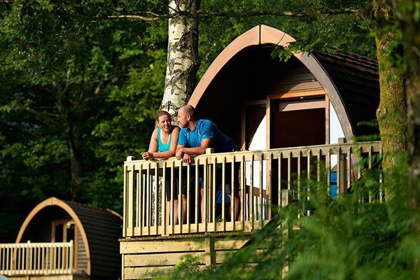 Buy One Night Glamping Break for Two at Park Cliffe