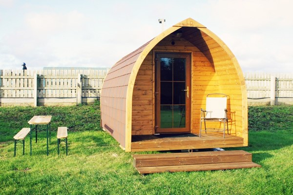 Buy One Night Glamping Escape at Plum Pudding Equestrian Centre for Two